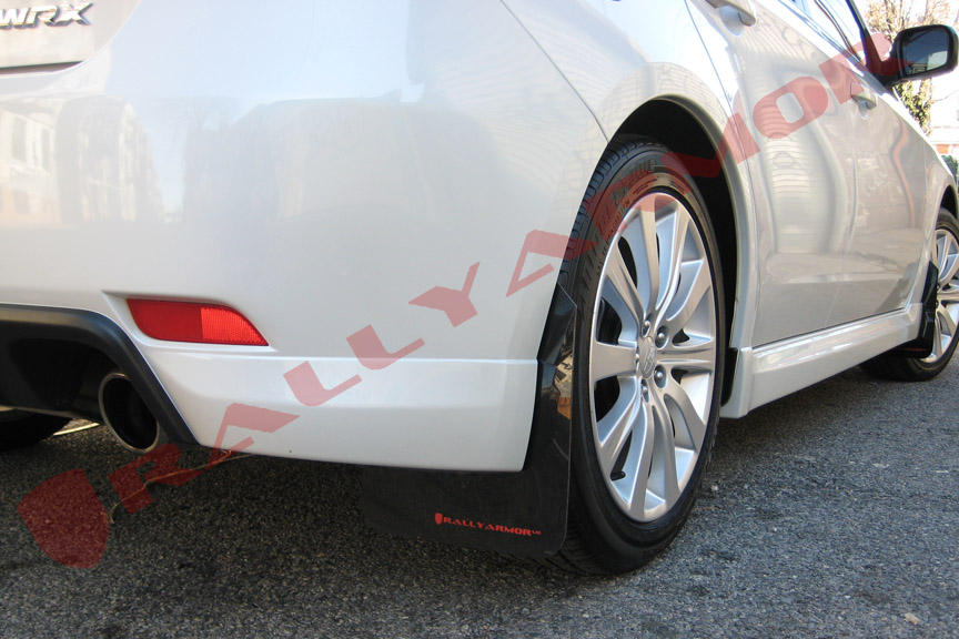 08-11 2.5i & 08-10 WRX Mud flap Red logo