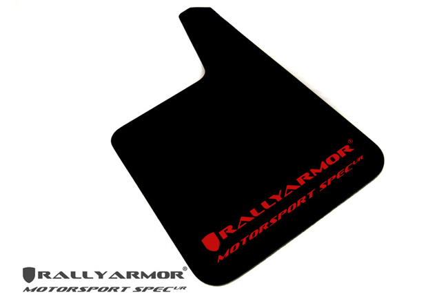 Universal MSpec Mud flap Red logo