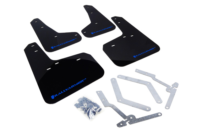 2012-18 Ford Focus, ST, RS Mud Flaps Blue Logo