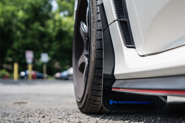 2016 Toyota 4Runner Accessories >> 2017-2018 Civic Type R Mud Flaps Blue Logo, Rally Armor