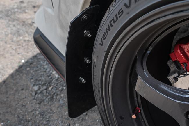 Polaris Sling Shot >> 2017-2018 Civic Type R Mud Flaps Blue Logo, Rally Armor